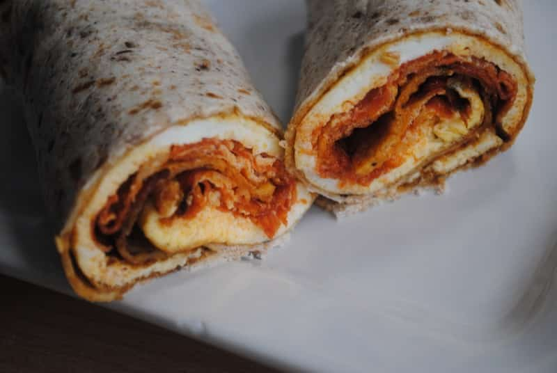 Egg and Chorizo Breakfast Wrap