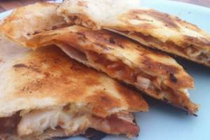 Chicken and cheese torillas
