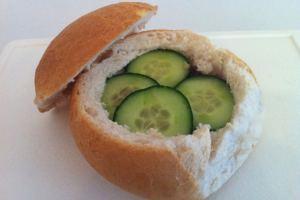 stuffed picnic sandwiches