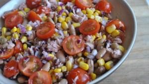 tuna bean salad - 1
