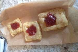 Pastry puff bites