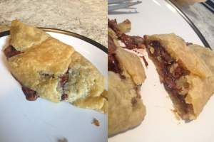 Nutella pastry wraps