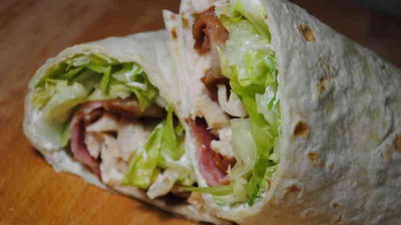 Crunchy Chicken & Bacon wrap recipe - 1