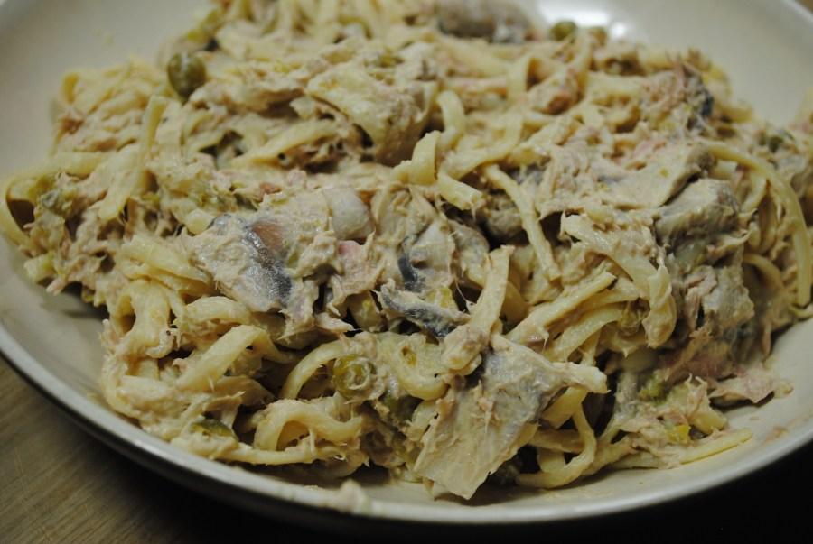 Tuna and Mushroom Spaghetti Recipe - 3
