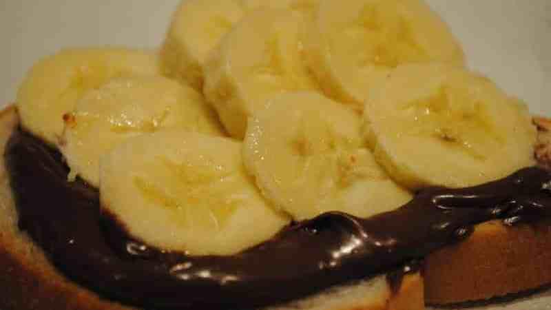 nutella banana 1