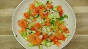 Simple Moroccan Salad Recipe - 1