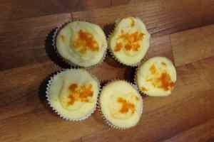 Orange mini cupcakes!