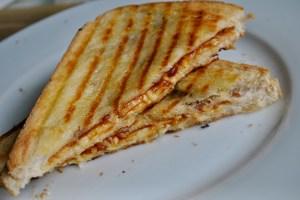 bbq cheese toastie recipe - 1
