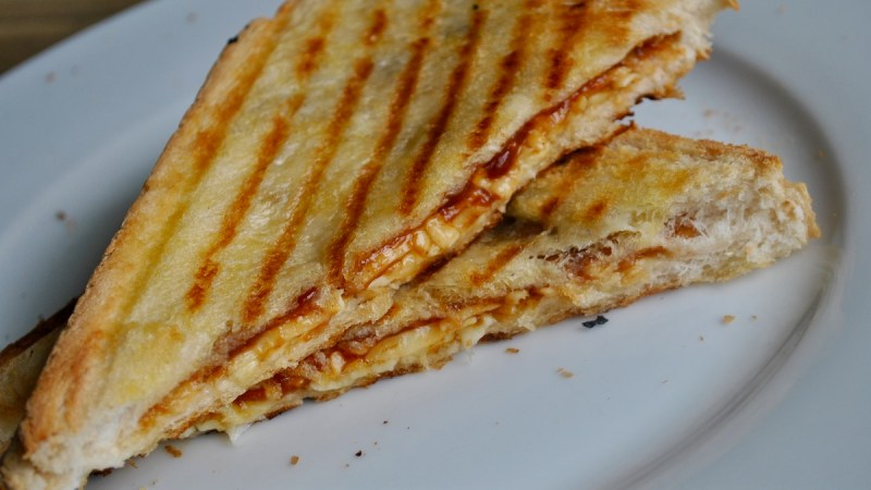 bbq cheese toastie recipe - 1