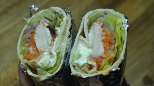 cajun chicken sweet potato burrito recipe - 3