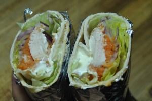 cajun chicken sweet potato burrito recipe - 3