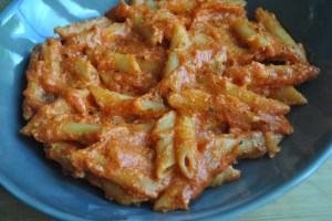 cheese tomato ketchup pasta recipe - 1