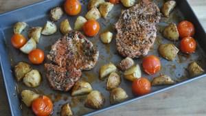 paprika pork potatoes recipe - 1
