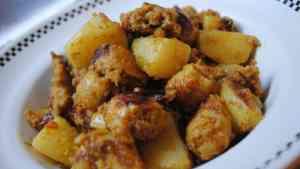 sausage potato curry