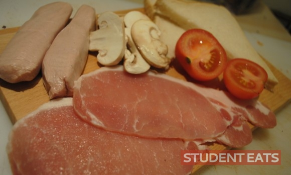 student fry up 1