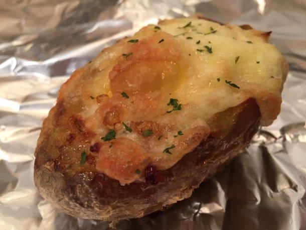 breakfast egg baked jacket potatoes