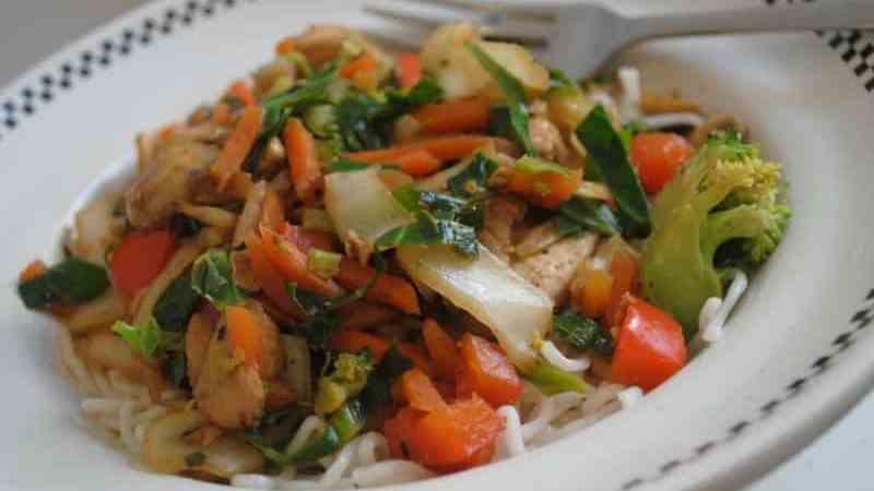 Easy Chinese chicken stir-fry 1