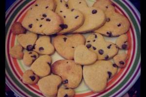 Easy chocolate chip biscuits