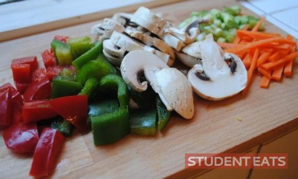 beef veg stir fry noodle 1
