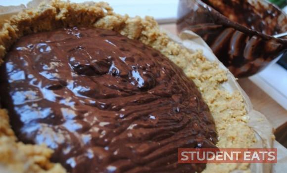 chocolate tart how to recipe 07
