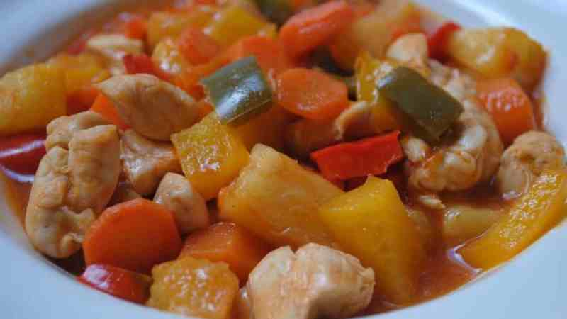 sweet and sour chicken student recipe