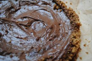 nutella cheese cake 1