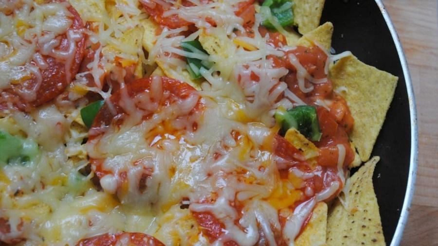 pizza nachos recipe