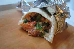 veggie burrito 2