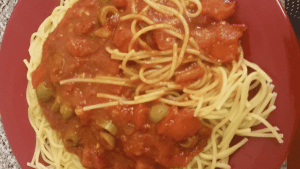 Simple but yummy pasta