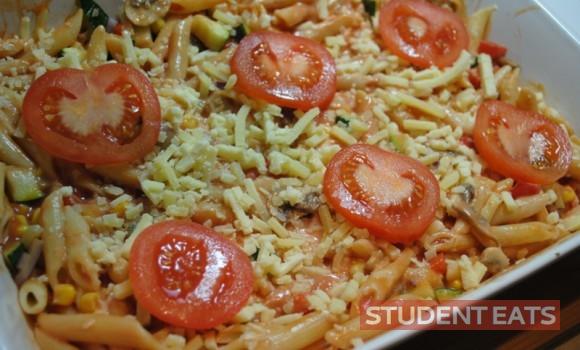 veggie pasta bake 4