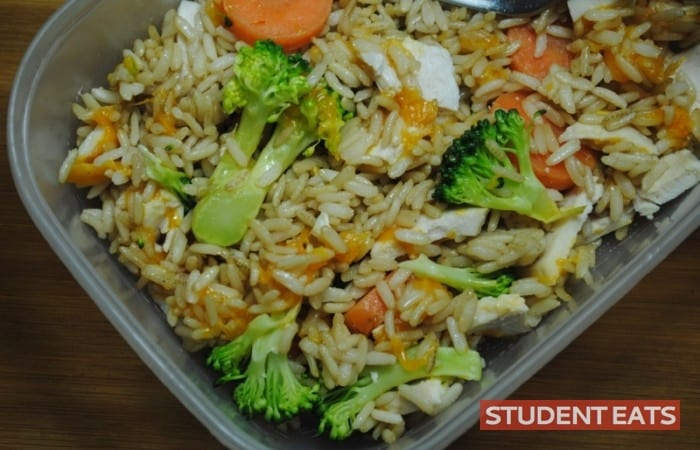 rice chicken veg easy 10