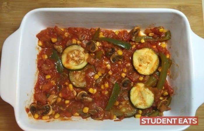 vegetarian lasagna student recipe 1