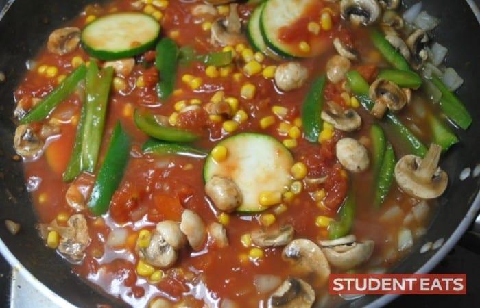 veggie lasagna recipe student 3