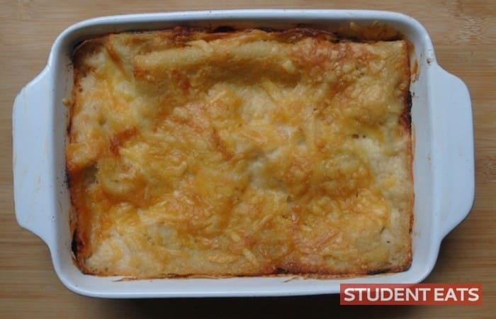 veggie lasagna recipe student 4
