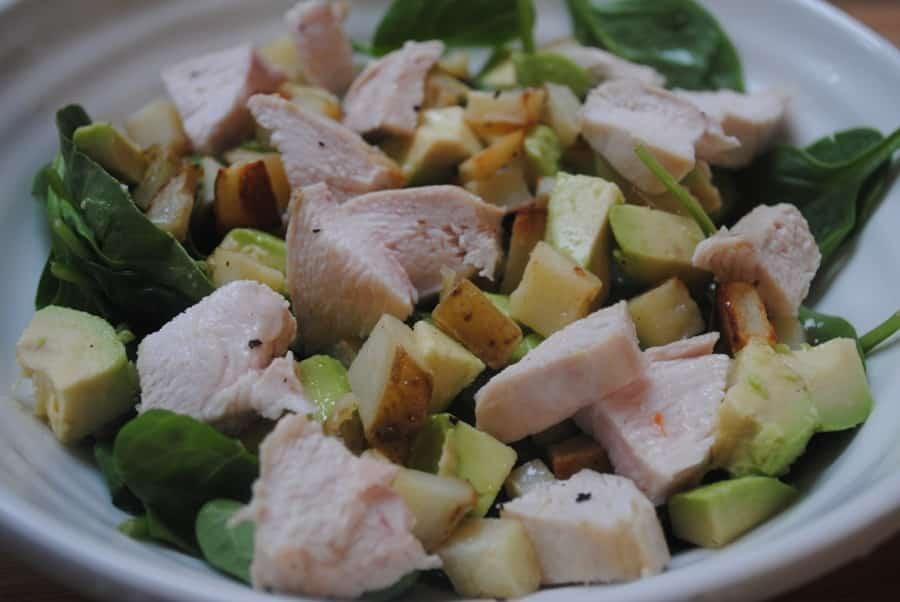 Honey-Lemon Avocado and Chicken Salad recipe