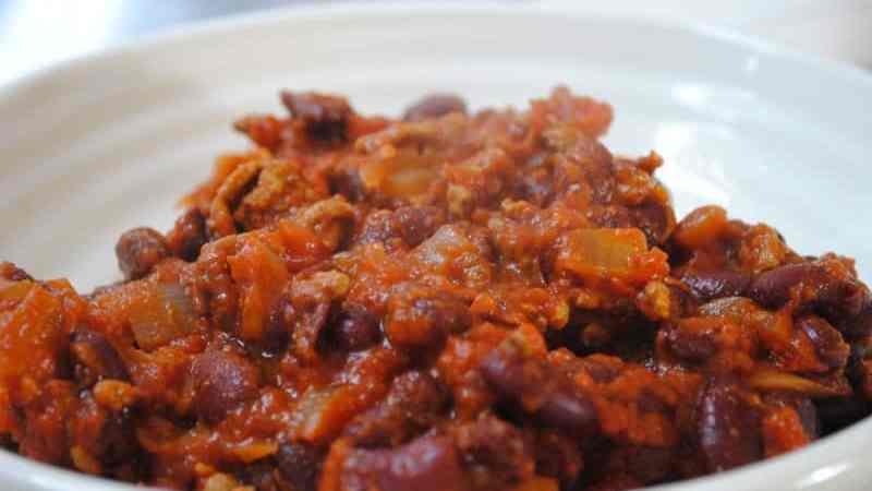 student recipes chilli con carne