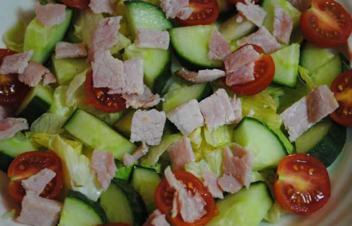 easy bacon salad recipe