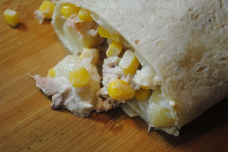 Tuna Mayo 'Burritos'