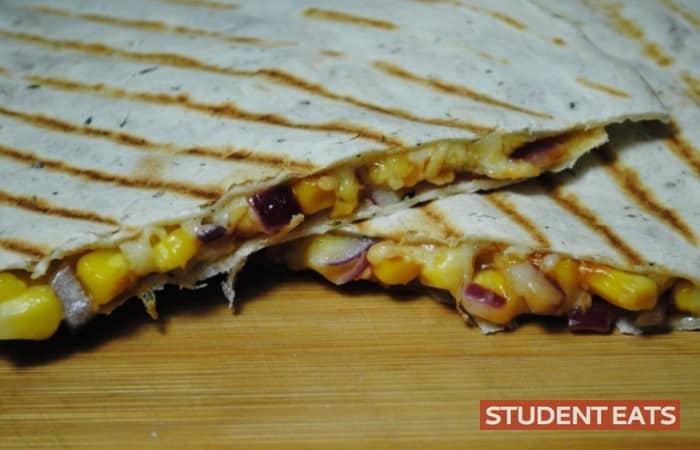 Crunchy BBQ Quesadillas recipe - 2