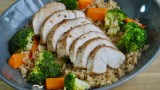 Chicken and Vegetable Brown Rice recipe - 1