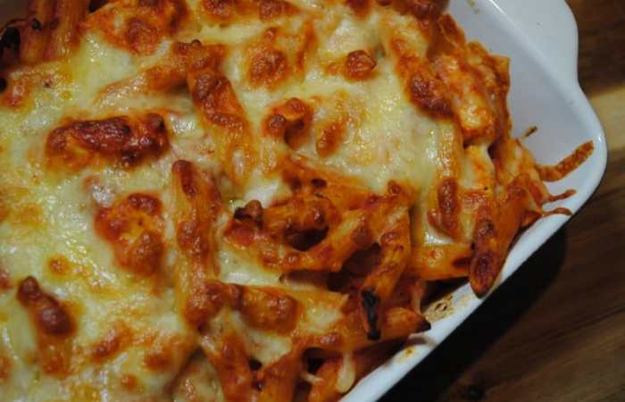 Chicken Mozzarella Pasta Bake