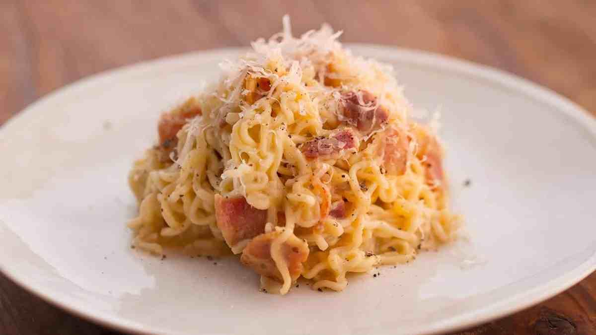 instant noodle Carbonara