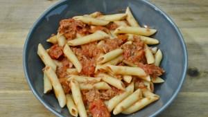 tomato tuna pasta recipe - 1