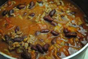 simple chilli student recipe - 1