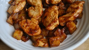 Easy Ginger Chicken and Chinese Potatoes Recipe - 1