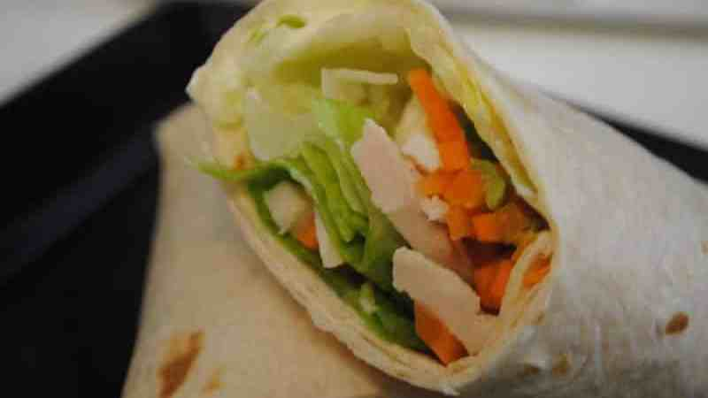 chicken carrot wraps - 1