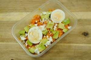 Sweet Potato and Egg Salad Box Recipe - 2