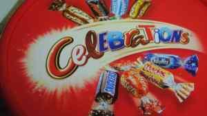 celebrations chocolates christmas - 1