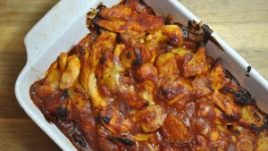 BBQ Chicken And Bacon Potato Bake Recipe - 1