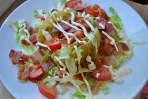 Loaded Bacon, Lettuce & Tomato Baked Potato Recipe - 1